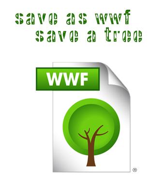 wwf filformat